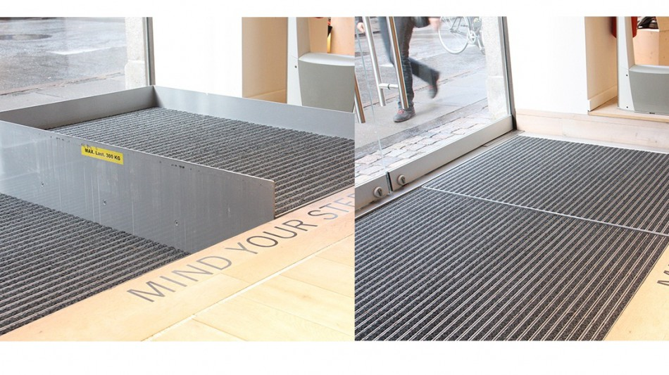 plataforma elevadora invisible