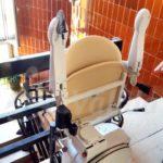 cadira salvaescales segura i silencisa model SOCIUS a l'Hospitalet de l'Infant
