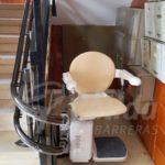 cadira salvaescales SOCIUS a l'Hostpitalet de l'Infant