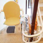 Cadira pujar i baixar escales de forma asseguda en comunidad de veïns Puigreig