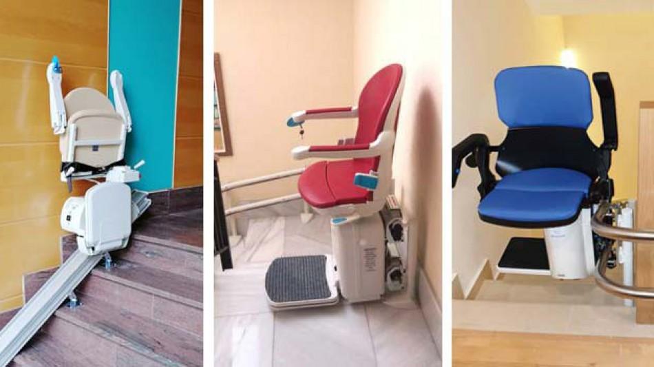 Dónde comprar una silla salvaescaleras en Madrid