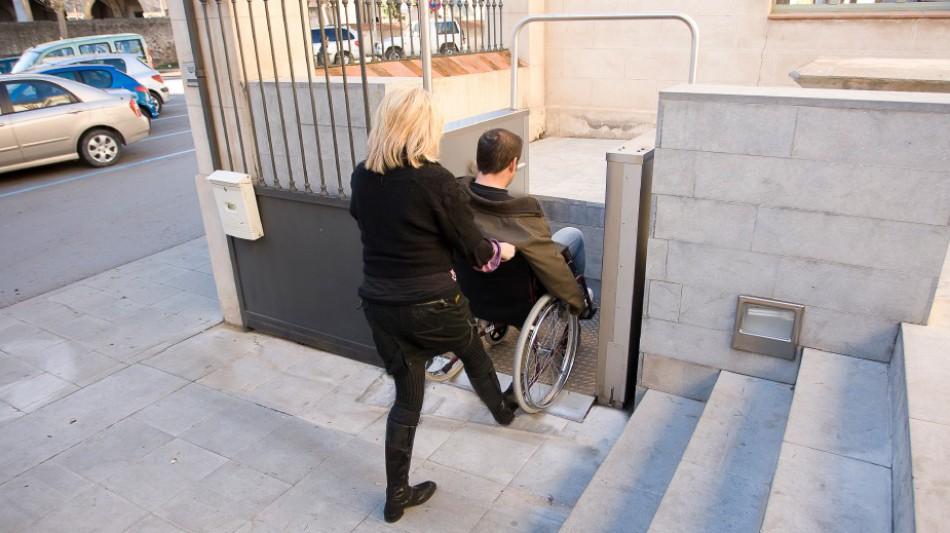 Elevadores para silla de ruedas
