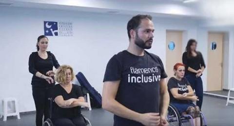 flamenc ball en cadira de rodes