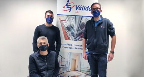 Patrocini Válida sin barreras i Grup MIFAS per a l'esport adaptat