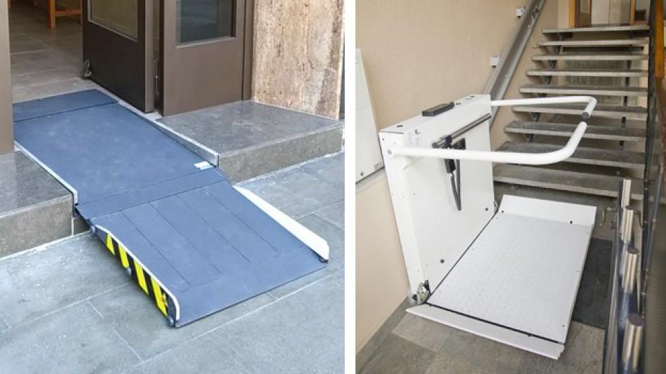 Cómo quitar escaleras de hogar o comunidades