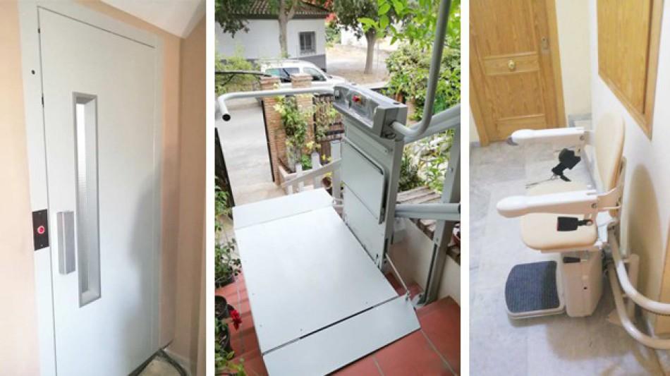 Salvaescaleras en Granada - Válida sin Barreras accesibilidad