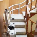 Cadira pujaescales model Socius còmoda i segura mobilitat reduïda