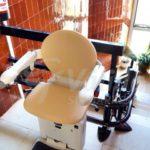 cadira pujaescales gir manual amb parking superior i inferior model SOCIUS