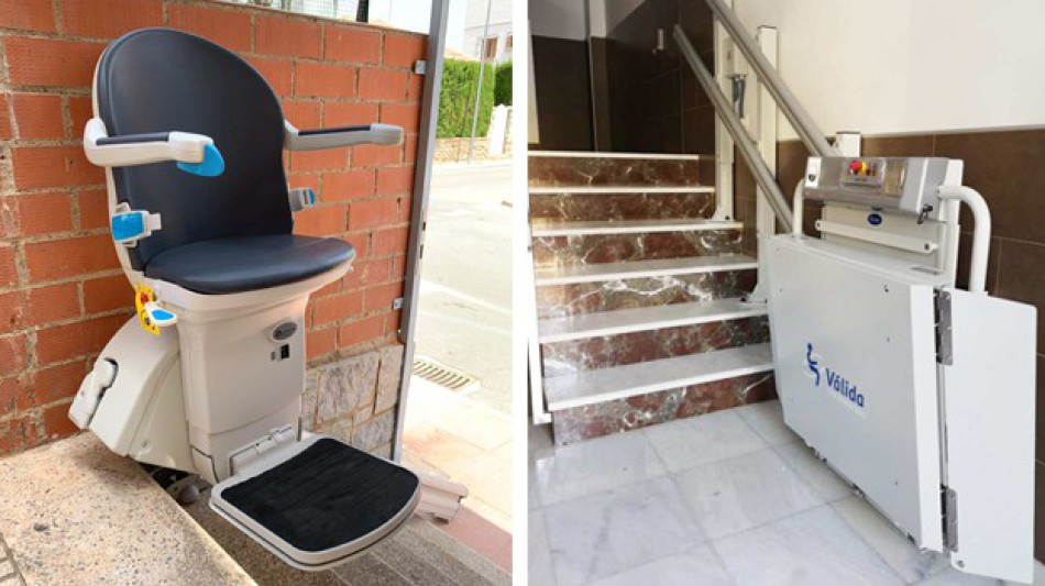 Comprar sillas y plataformas salvaescaleras en Murcia
