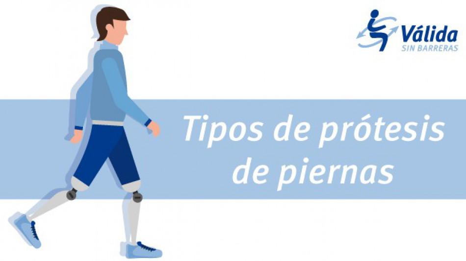 tipos de protesis piernas amputadas