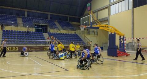 Equip de bàsquet en cadira de rodes