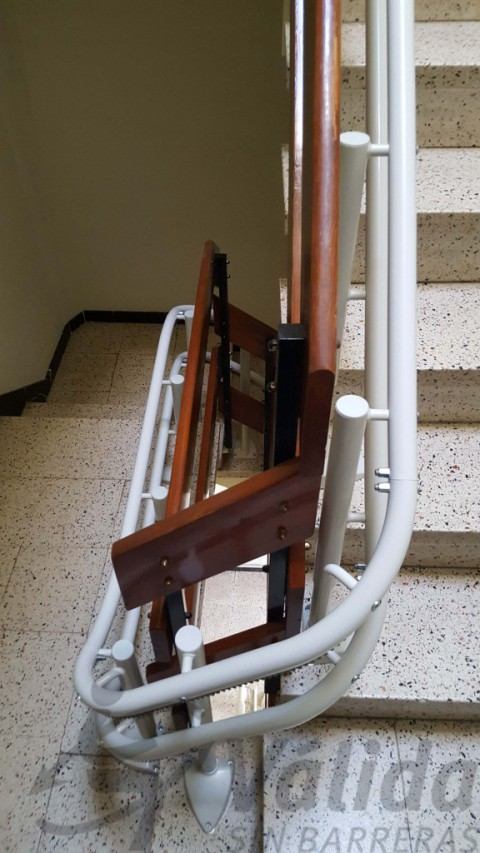 ajust de la guia a doble carril olot