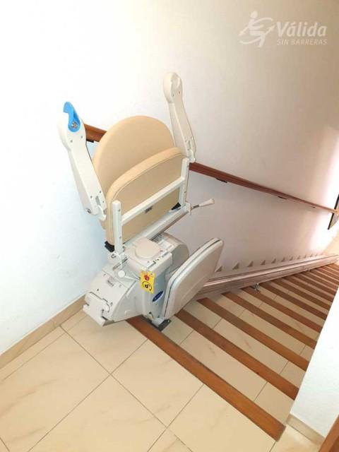 millorar l'accessibilitat amb una cadira salvaescales de Válida sin barreras a Valencia