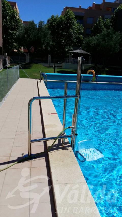 cadira discapacitat mobilitat reduïda guadalajara valdeluz yebes
