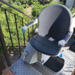 muntatge de cadira elevadora per persones amb mobilitat reduïda o discapacitat