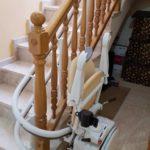 Cadira salvaescales elevació dins la llar casa SOCIUS Bigues i Riells Barcelona