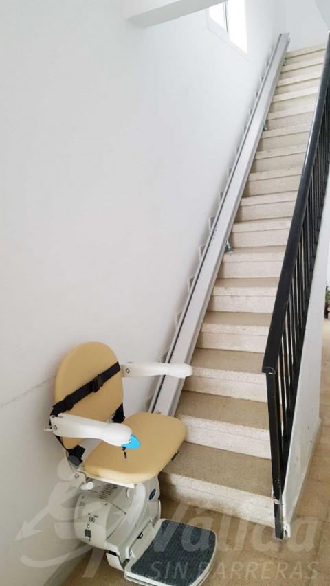instal·lació cadira salvaescales fidus válida sin barreras girona roses