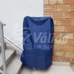 Cadira salvaescales exterior pati escales mobilitat reduïda