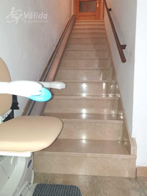 instal·lar una cadira elevadora per les persones amb mobilitat reduïda a Jaén