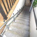 cadira elevadora per a persones amb discapacitat instal·lada a Madrid