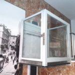 muntatge de mini elevador per a superar desnivells verticals a Madrid
