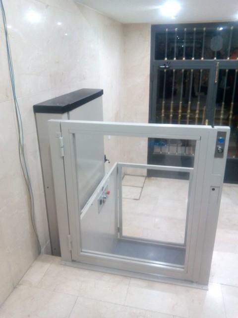 elevador per trajectes inferiors a 1,8 metres a alcala de henares