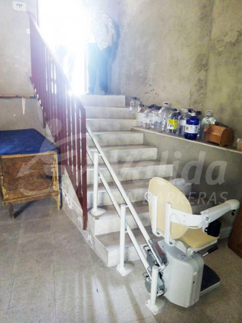 instal·lació salvaescales Ávila Solana de Rioalmar baix consum energètic