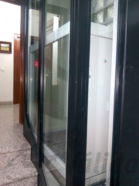 estructura prefabricada per elevador vectio en bloc de pisos valladolid