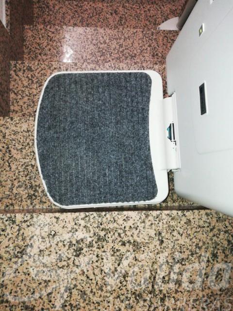 Reposapeus cadira salvaescales Socius a Blanca, Murcia