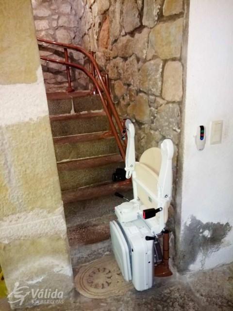 comprar cadira pujaescales per a trams d'escala corb a Guadasuar, València