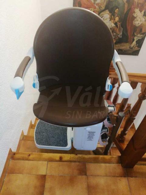 instal·lació cadira pujar i baixar escales mobilitat reduïda Jávea, Alicante, Valencia