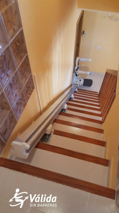 instalacion silla subeescaleras salvaescaleras fidus reus tarragona