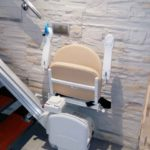 cadira salvaescales plegable, còmoda i segura a madrid