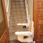Cadira salvaescales SOCIUS instal·lada a casa particular de Lardero, La Rioja