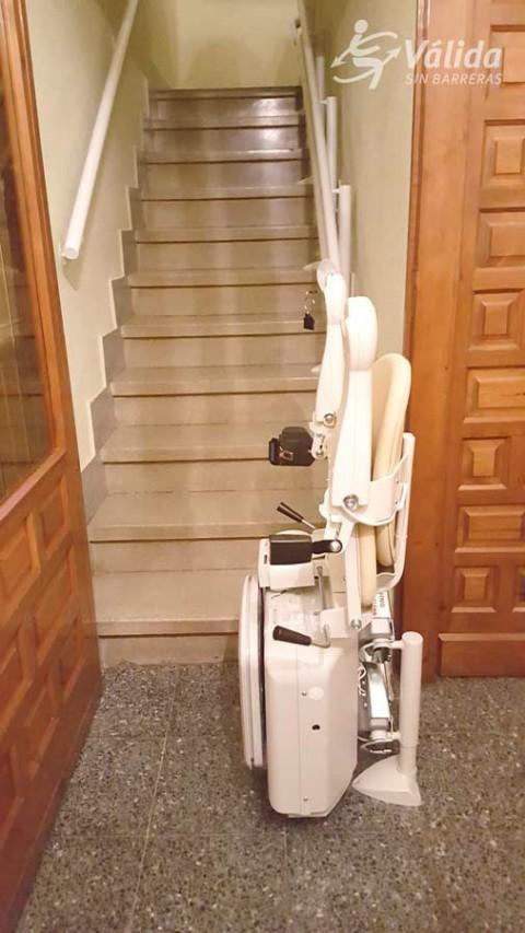 ajuda tècnica per millorar l'accessibilitat de les persones amb mobilitat reduïda