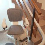Cadira salvaescales Unika instal·lada a casa particular de Lerín a Navarra