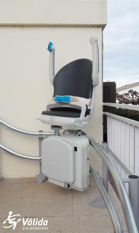 Pujaescales instal·lació ràpida sense obres i màxima seguretat