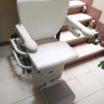 Cadira salvaescales SOCIUS instal·lada a casa particular de Nules, Castellón