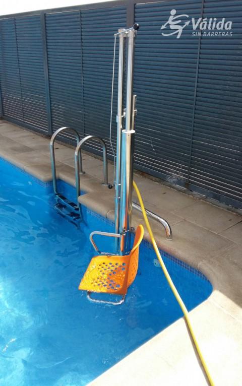 Elevador Aqua per a piscinas en intemperie a bon preu