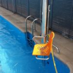 instal·lació de elevador AQUA per a piscines a Parla