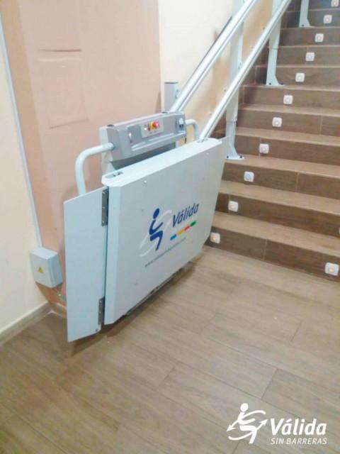 plataforma muntacàrregues elevadora leganés madrid accessibilitat spatium
