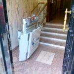 plataforma per pujar escales en cadira de rodes madrid