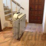 plataforma per cadira de rodes muntada en una casa de castell aro