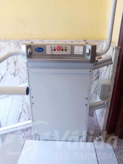 instal·lació plataforma baix consum madrid entrada pis