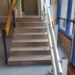 Plataforma salvaescales per persones amb problemas de mobilitat