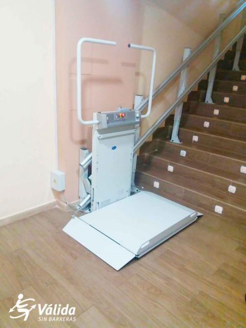 salvaescales plataforma leganés madrid discapacitat minusvàlid