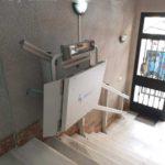 Plataforma salvaescales Spatium instal·lada a casa particular de Torrent a Valencia