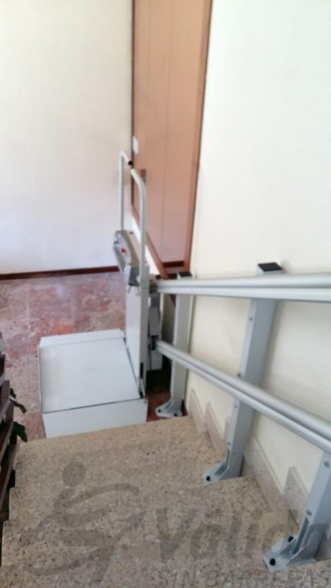spatium per pujar escales rectes san sebastian reyes