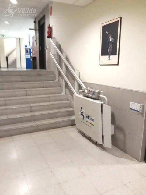 plataforma salvaescales per a persones en cadira de rodes a Las Rozas
