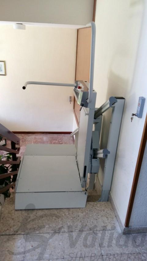 plataforma elevadora embarcament lateral spatium san sebastian los reyes